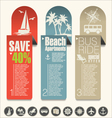 modern design travel banner vector image vector image
