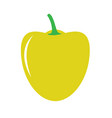sweet pepper icon vector image vector image