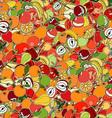 Vegetation Patterned Wallpaper vector image vector image