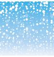 winter christmas backgroundwinter christmas vector image
