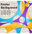 Background with lines and grunge vector image