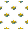 bam comic book explosion pattern seamless vector image vector image