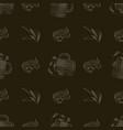 beer bar print mug of beer shrimp potato chips vector image