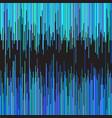 blue stripes on black background vector image vector image