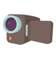 Camcorder icon cartoon style vector image