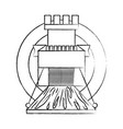 castle tower icon image vector image vector image