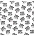 cute raccoon face cartoon background vector image