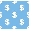 Dollar seamless pattern vector image vector image