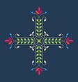 Elegance Floral design element for pattern vector image vector image