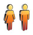 man woman vector image vector image