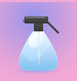 plastic spray bottle vector image
