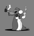 quit smoking cartoon vector image