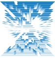abstract architecture vector image vector image