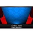 abstract modern backgrounds design vector image vector image