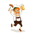 beer party man vector image