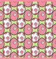 easter eggs seamless pattern5 vector image vector image