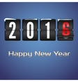 Happy new year 2016 card vector image vector image