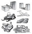 Misc Objects vector image vector image