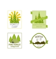 Outdoor Activity Travel Logo Vintage Labels design vector image vector image