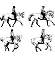 Riding horses collection - sketch