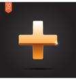 cross icon Eps10 vector image