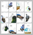 a4 brochure layout covers design templates vector image