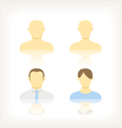 abstract people vector image