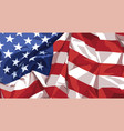 flag united states america vector image vector image