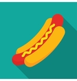 Hot Dog Cartoon vector image