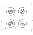 money cash and currency exchange line icons vector image