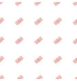 sawing icon pattern seamless white background vector image vector image
