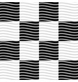 seamless pattern with wavy waving parallel lines vector image vector image