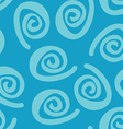 swirl seamless pattern vector image vector image