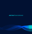 Abstract curve futuristic background vector image