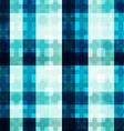 blue light mosaic seamless pattern vector image