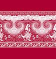 horizontal seamless background imitation oriental vector image