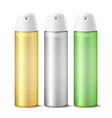realistic air freshener spray can vector image