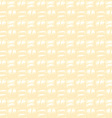 Yellow canvas texture vector image