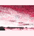 abstract pink monochrome background vector image vector image