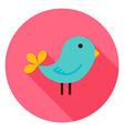 Bird Circle Icon vector image vector image