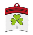 calendar saint patricks day related icon image vector image vector image