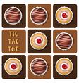 ChocolateBallCupCake vector image vector image
