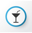 cocktail icon symbol premium quality isolated vector image
