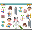 educational task for children vector image vector image