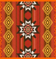 etnic textile pattern vector image vector image