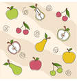 Fruit seamless texture vector image