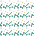 Ivy Gourd seamless pattern background vector image