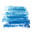 Marine blue paint abstraction vector image vector image