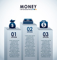 money infographics vector image vector image