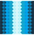 Pattern with blue squares vector image